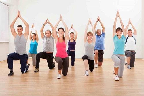 Luyện tập để tăng cường sự bền vững của cấu trúc sụn xương