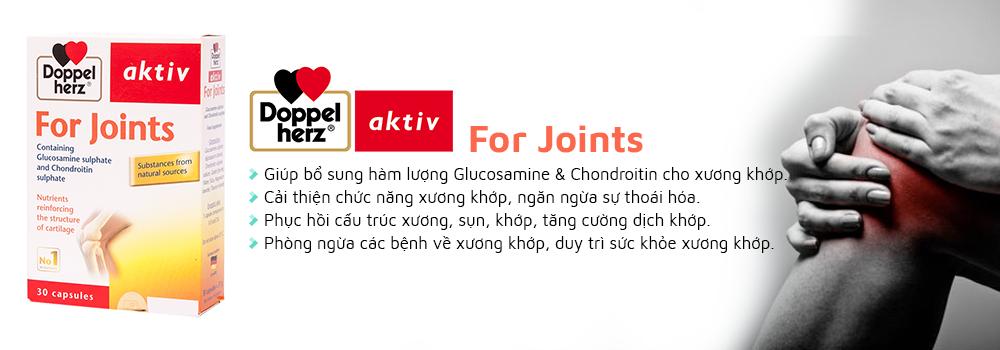 Doppelherz For Joints mang lại nhiều tác động cho xương khớp
