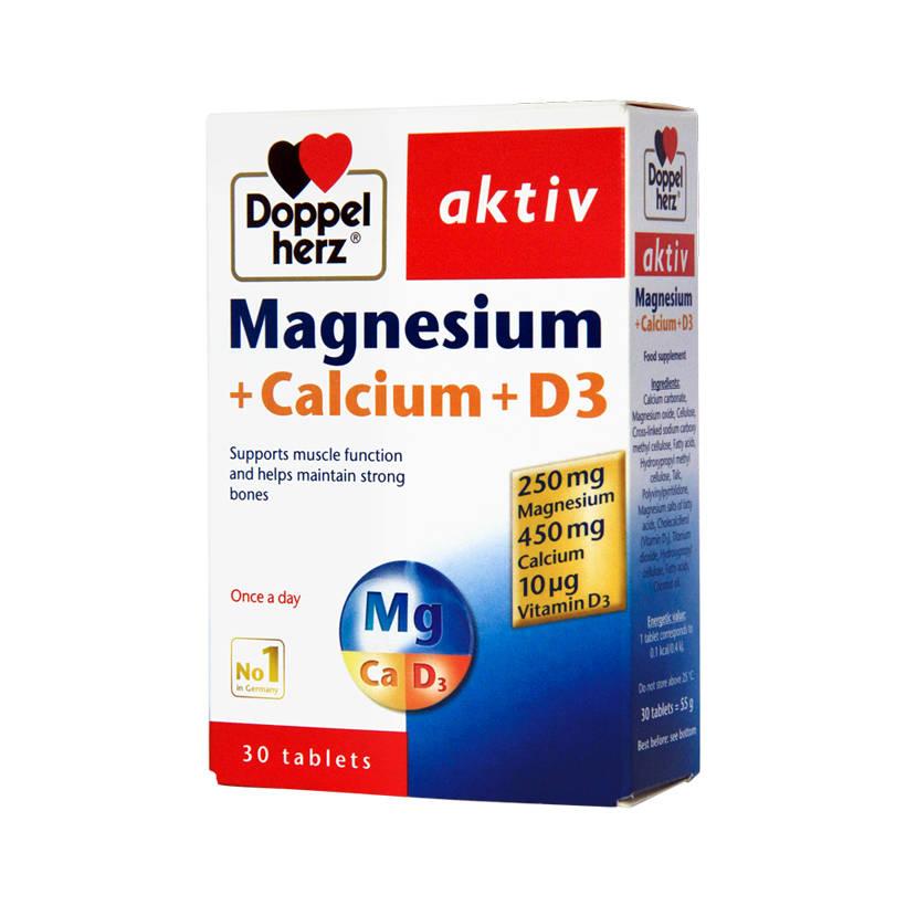Doppelherz Magnesium + Calcium + D3 được bán tại Glucosamin.com.vn
