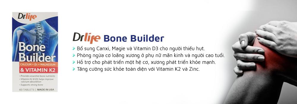 Drlife Bone Builder giúp cơ xương, răng chắc khỏe