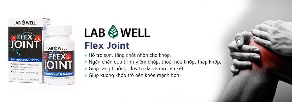Lab Well Flex Joint hỗ trợ bệnh xương khớp hiệu quả