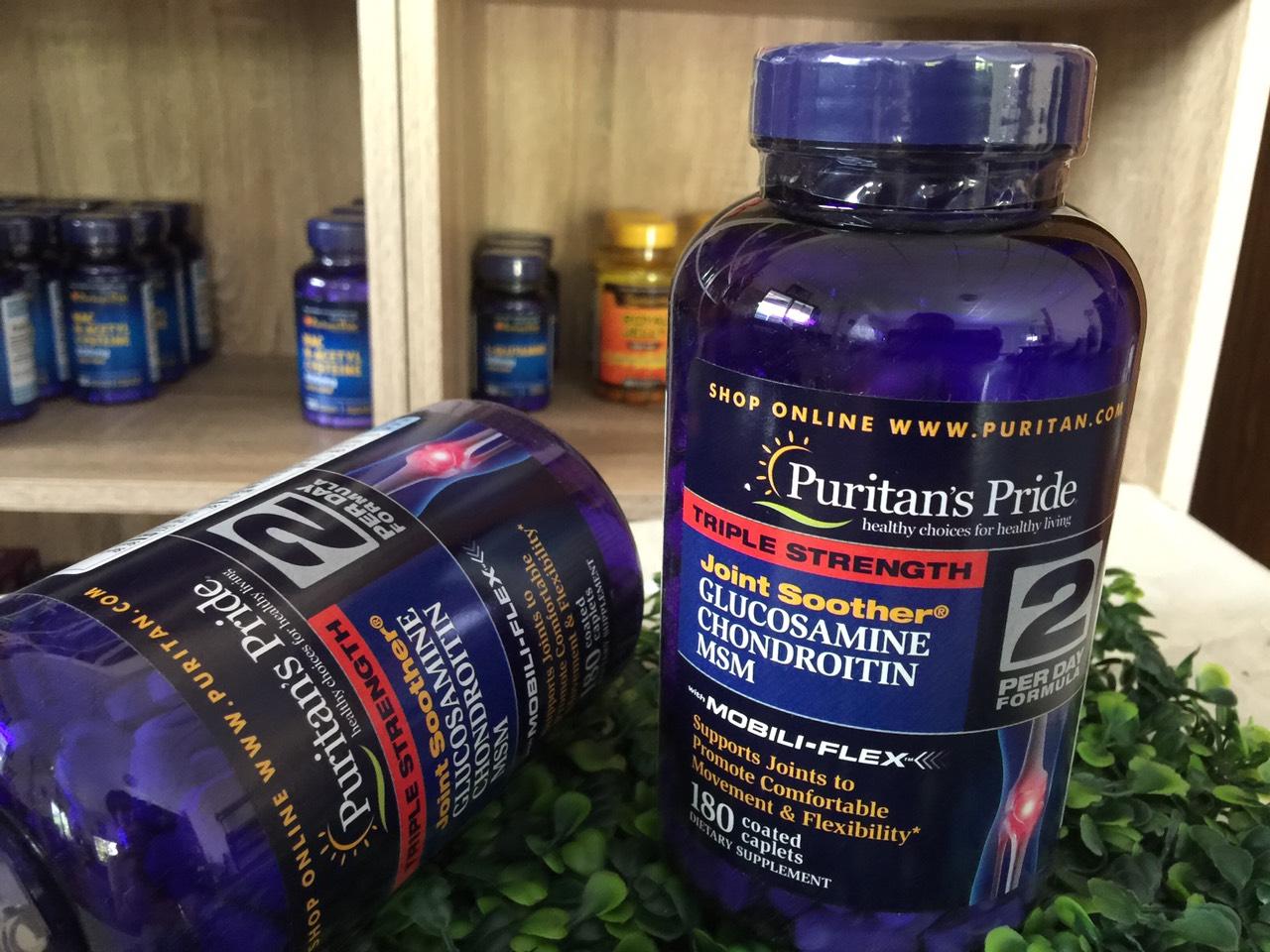 Puritans Pride Glucosamine 180 viên