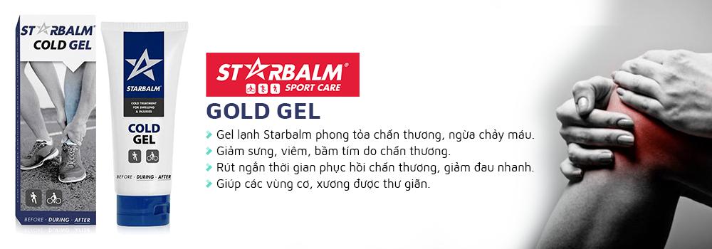 Gel lạnhStarbalm Cold Gel giảm đau xương khớp