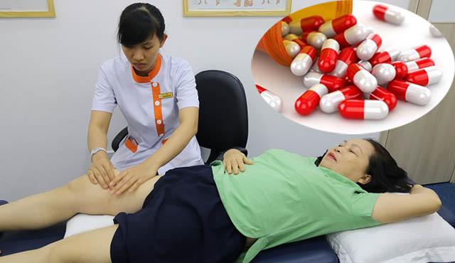 Sử dụng thuốc tây chữa bệnh tràn dịch khối khớp