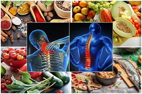 Cải thiện chế độ dinh dưỡng cải thiện các bệnh lý xương khớp