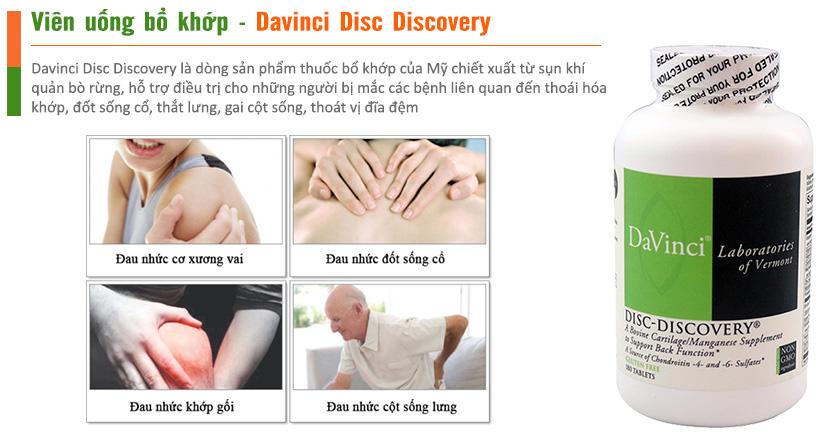 Davinci Disc Discovery giải pháp cho người thoái hóa cột sống, thoát vị đĩa đệm