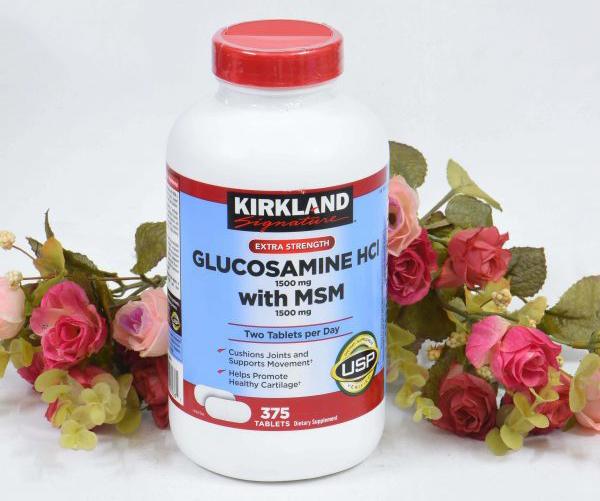 Glucosamine của Mỹ được đánh giá chất lượng tốt và giá thành hợp lý
