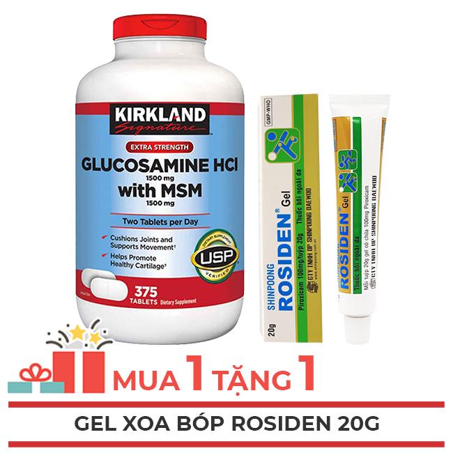Glucosamine 375 viên