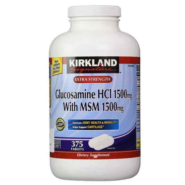 Glucosamine 375 Kirkland