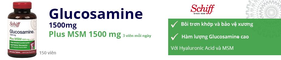 Glucosamine MSM 1500mg