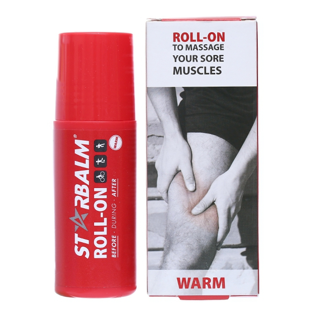 Chai lăn làm nóng Starbalm Roll-On Warm, Chai 75ml