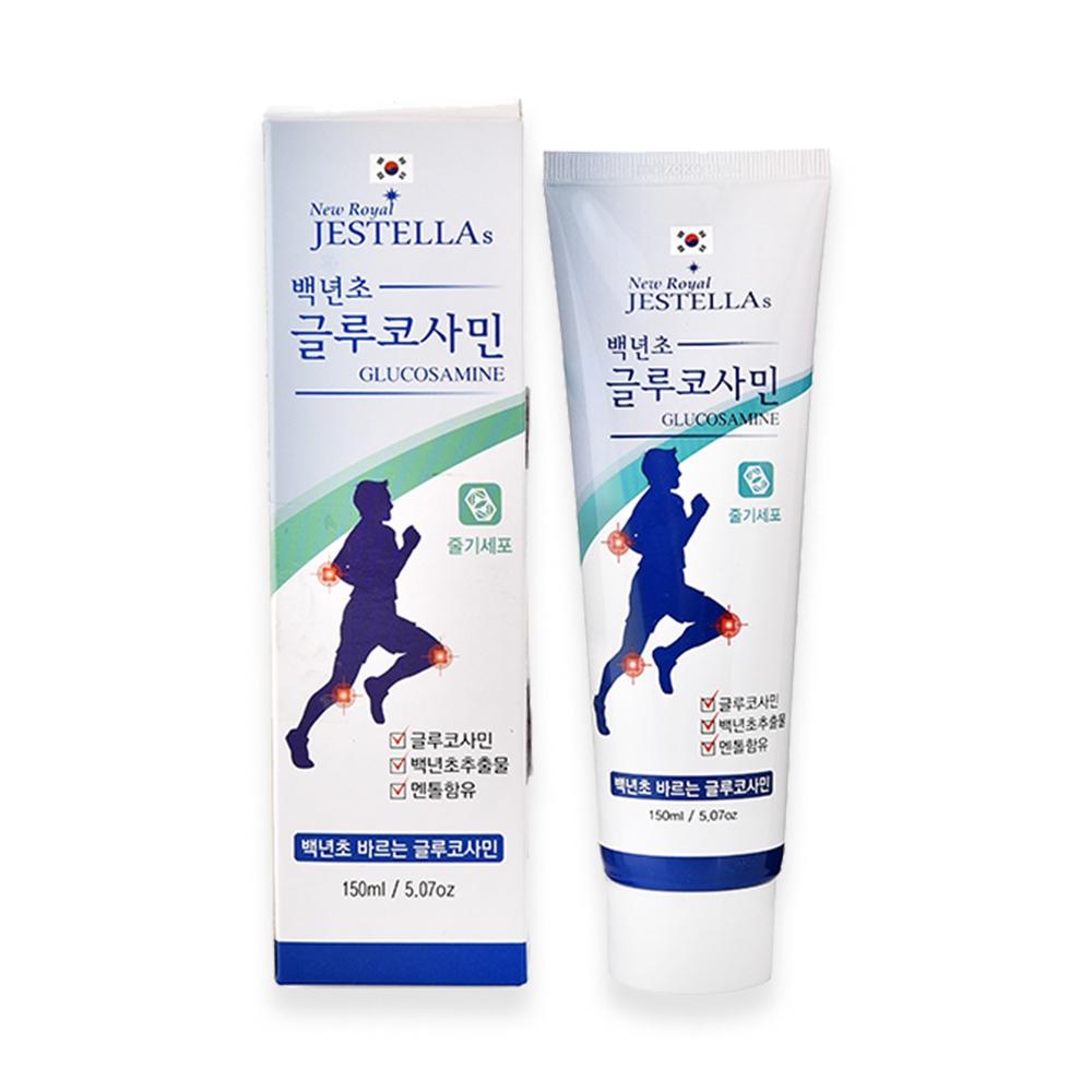 Dầu xoa bóp, dầu lạnh Glucosamine Hàn Quốc Jestellas Glucosamine (Tuýp 150ml)