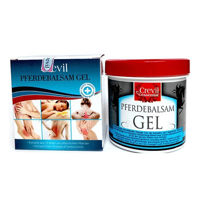 Gel massage trị liệu giảm đau giảm nhức mỏi Essential Pferdebalsam 250ml Crevil