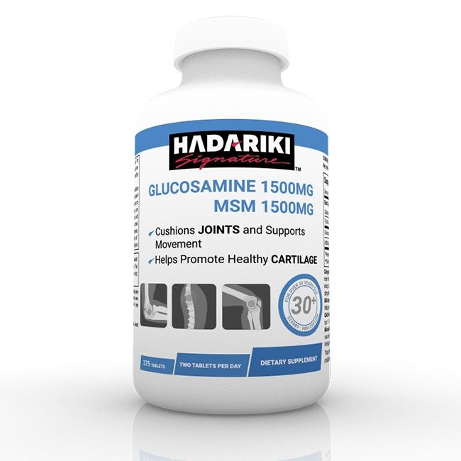 Hadariki Glucosamine 1500mg MSM 1500mg tăng cường bảo vệ xương khớp