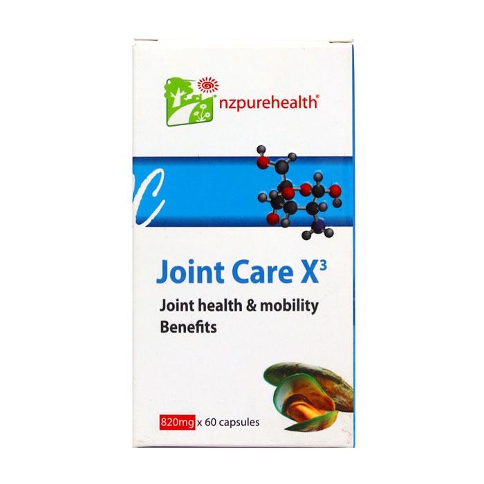 Nzpurehealth JOINT CARE X3, Chai 60 viên