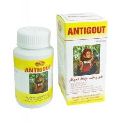 ANTIGOUT hỗ trợ điều trị Gout, Hộp 60 viên