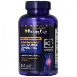 Puritan Pride Double Strength Glucosamin Chondroitin MSM (Chai 240 viên)