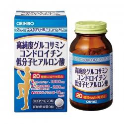 Glucosamine Hyaluronic Acid Orihiro Nhật bản | Chai 270 viên