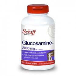 Schiff Glucosamine 2000mg hỗ trợ đau nhức xương khớp (Chai 150 viên)