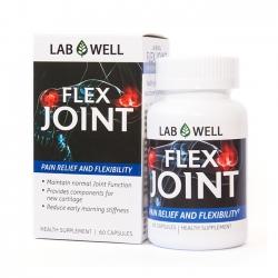 Viên uống bổ khớp Lab Well Flex Joint bổ sung Glucosamine, Hộp 60 viên
