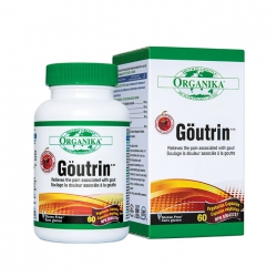Organika Goutrin - Hỗ trợ điều trị Gout, Chai 60 viên