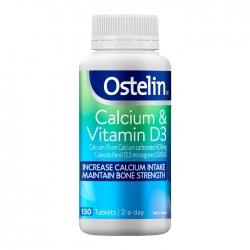 Ostelin Calcium&Vitamin D3, Chai 130 Viên