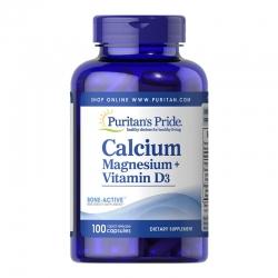 Puritan's Pride Calcium Magnesium Vitamin D3