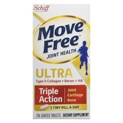 Schiff Move Free Ultra Triple Action bổ khớp #1 tại Mỹ, Chai 75 viên