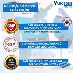 Shinpoong VAROBONE GLU 500, Hộp 60 Viên