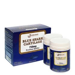 Sụn cá mập Blue Shark Cartilage 750mg Premium Quality (Hộp 370 viên)
