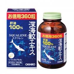 Sụn cá mập Orihiro Squalene Nhật Bản 360 viên