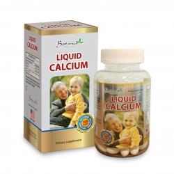 Thực phẩm bảo vệ sức khỏe Botania Liquid Calcium, Hộp 80 viên