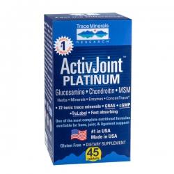 TraceMinerals ActivJoint Platinum, Chai 45 viên
