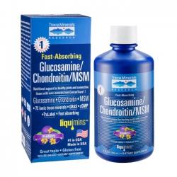 TraceMinerals Glucosamine, Chondroitin, MSM Chai 946ml
