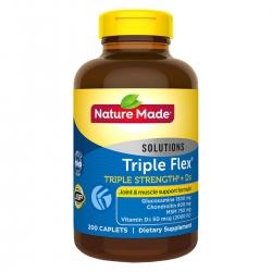 Viên uống bổ khớp Nature Made Triple Flex Triple Strength + D3, Chai 200 viên