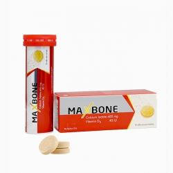 Viên sủi Maxbone Mediphar USA, Hộp 10 viên