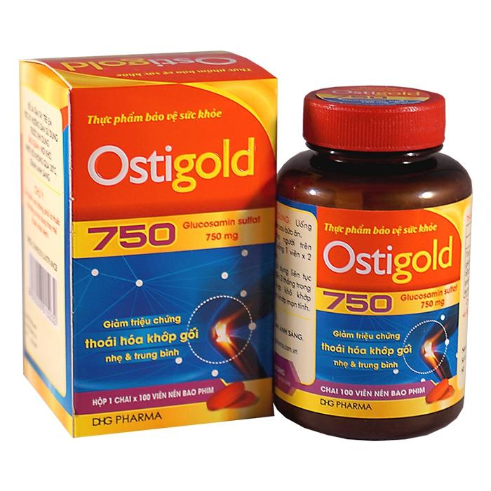 Thuốc Ostigold 750mg DHG, Chai 100 viên