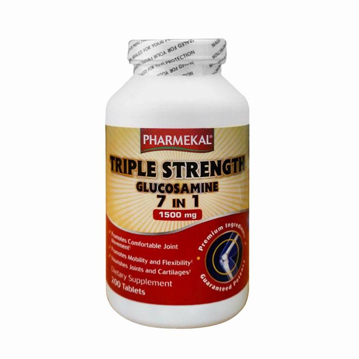 Tpbvsk xương khớp Pharmekal Triple Strength Glucosamine 7 in 1