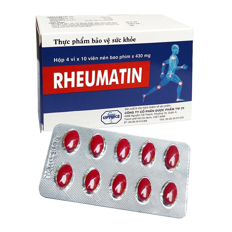 Viên uống xương khớp Rheumatin, Hộp 40 viên
